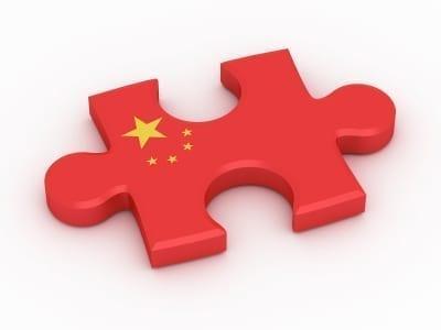 China flag puzzle