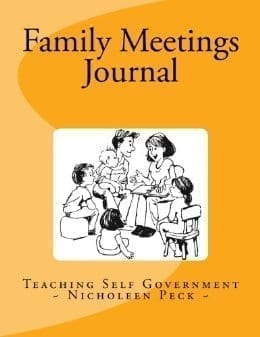 Family Meetings Journal