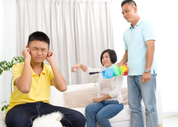 Son won't listen to his parents