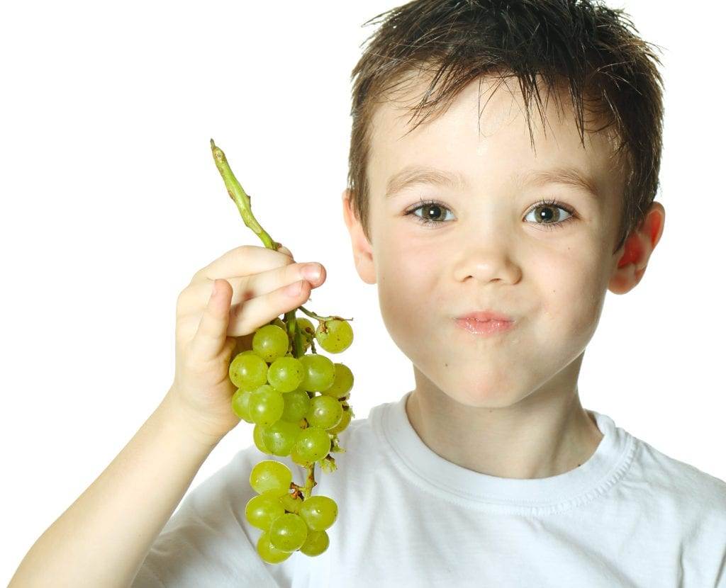 BoyWithGrapes