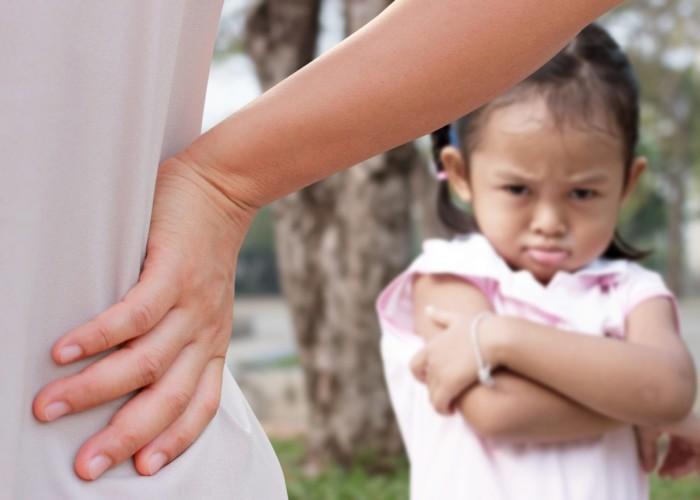 Disciplining Child - AdobeStock_113985127