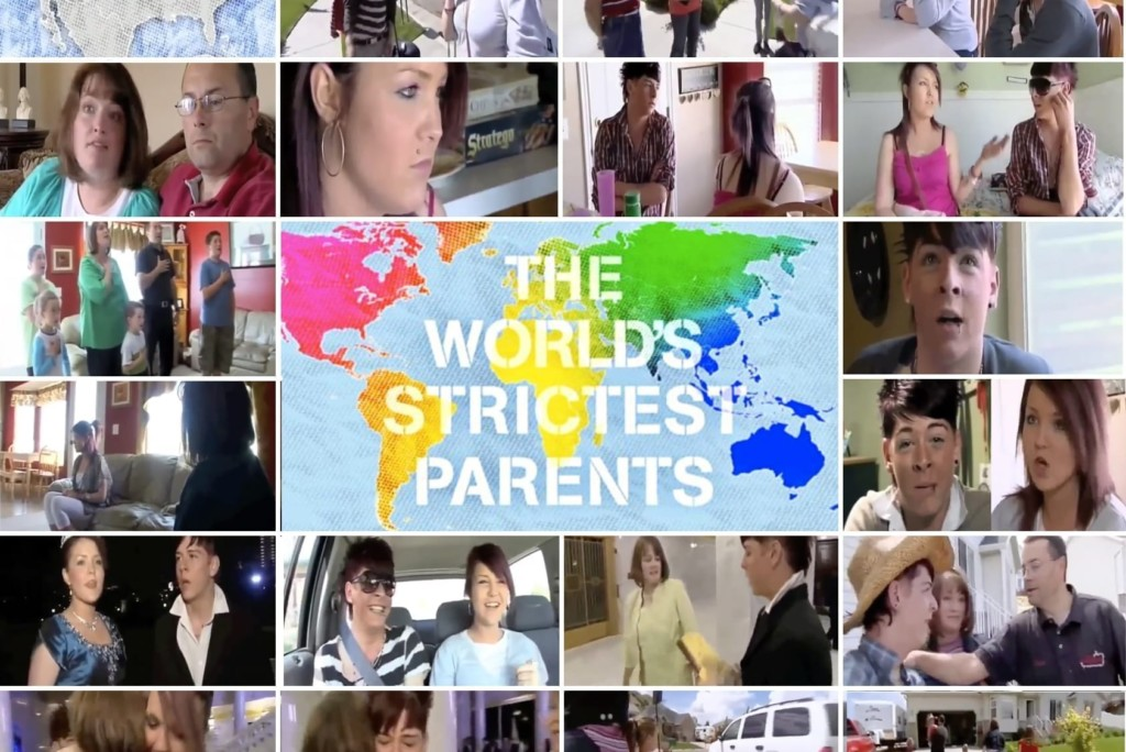 The Worlds Strictest Parents collage