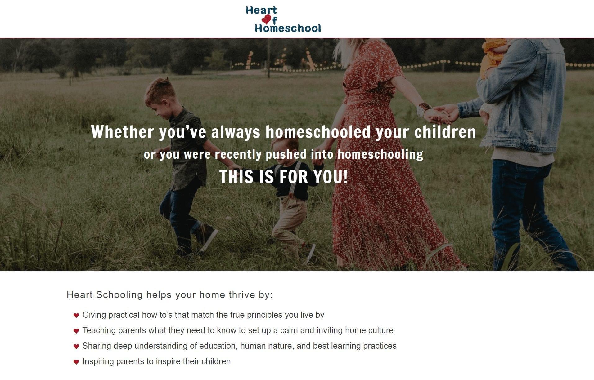 Heart of Homeschool FREE Online Seminar