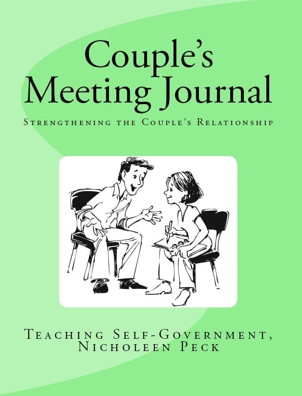 Couple's Meeting Journal